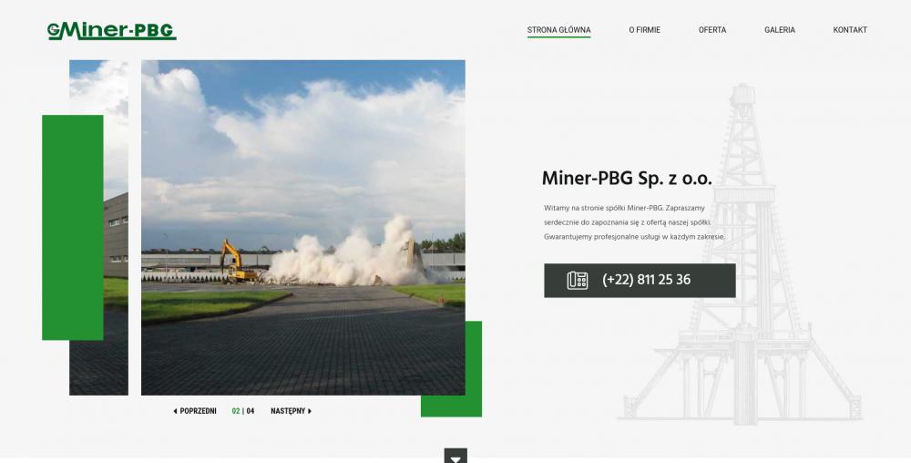 Strona główna Miner-PBG